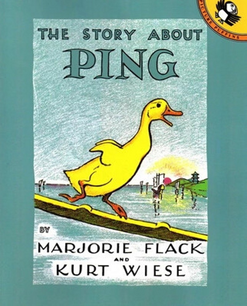 The Story About Ping Little Duck Adventures English picture books ...