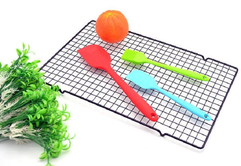Kitchen Baking Tray Tools Dropship Nonstick Metal Cake Cooling Net  Rack Cookies Biscuits Bread Muffins Drying Stand Holder