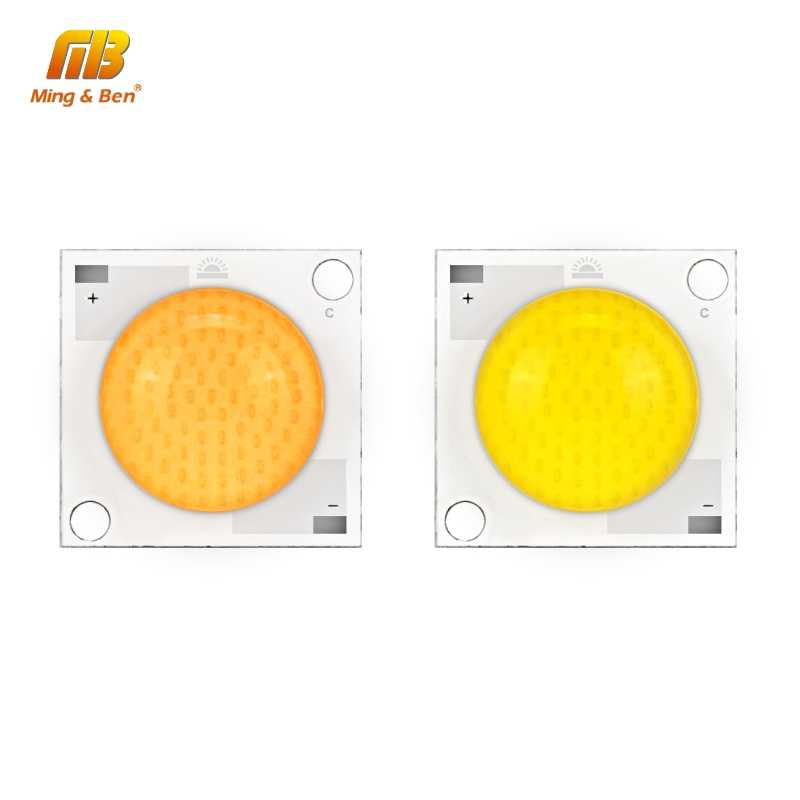 LED Colloid Lens COB Chip Lamp 20W 30W 50W LED Chip AC 28-32V Input DIY for Spotlight Beads Warm White Cold White 180 degree