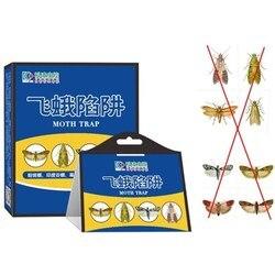 5 шт./компл. эффективная ловушка для мушек, средство для борьбы с вредителями, Отпугиватель моли, Отпугиватель вредителей, ловушка для насеко...