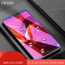 IMIDO Full Cover Anti-blue Tempered Glass for Xiaomi Redmi Note 5 5A Pro Anti Blue Screen Protector for Redmi Note 6 Pro Film