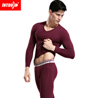 Free Shipping Brand Intouch Thermal Underwear Long Johns Men Thermal Underwear Sleep Bottom Fashion Leader Pants