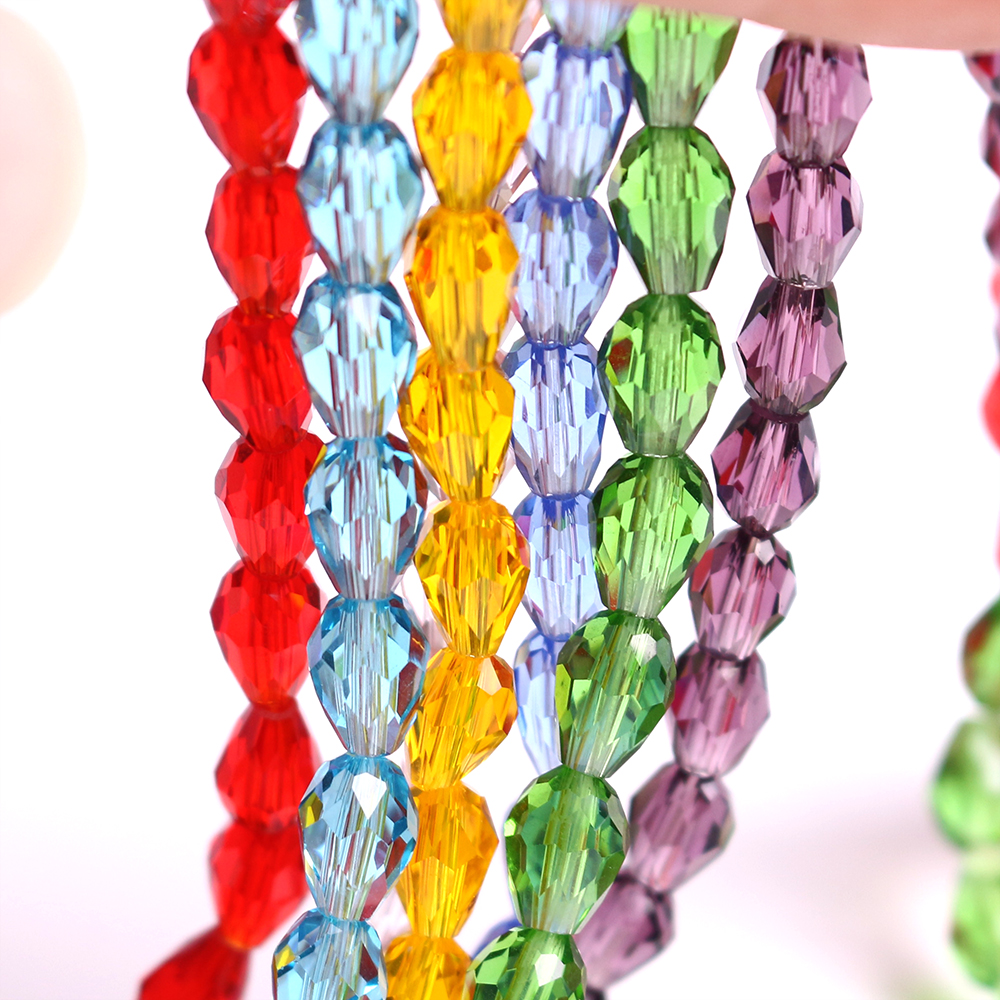 Wholesale 3//4//6//8//10//12mm Czech Round Faceted Crystal Glass Loose Beads Crafts