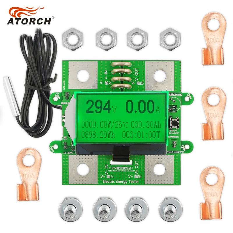 ATORCH täpse energiamõõturi pinge voolutugevus alalisvool 300 V / - Mõõtevahendid - Foto 4