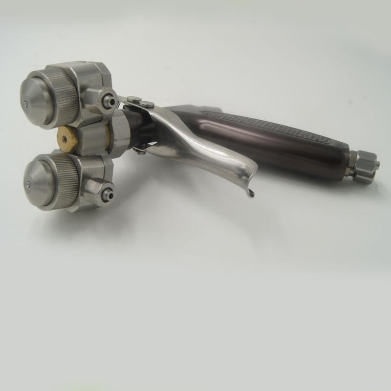SAT1204 rankinis purškimo pistoletas Dviejų purkštukų purškimo - Elektriniai įrankiai - Nuotrauka 4