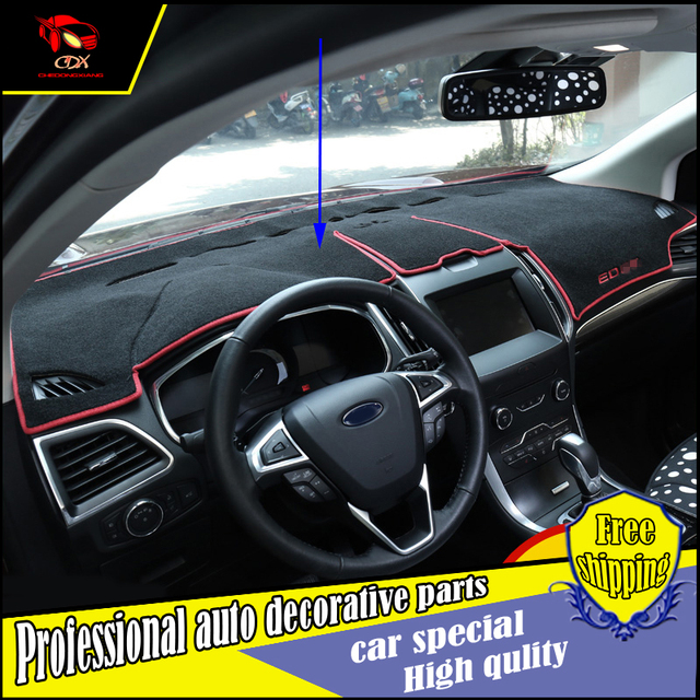Auto Dashboard Light Resistant Mat Special For Ford Edge  Avoid Reflectionnew