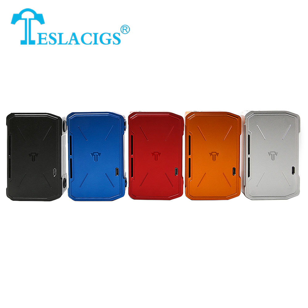 280W Tesla Invader 4 VV Box MOD with 5 Levels Voltage Adjustment Output 3V-8V NO 18650 Battery Mod VS Tesla Invader 3 E-cig Mod used good condition mod no 503 ser no 2097014 with free dhl ems