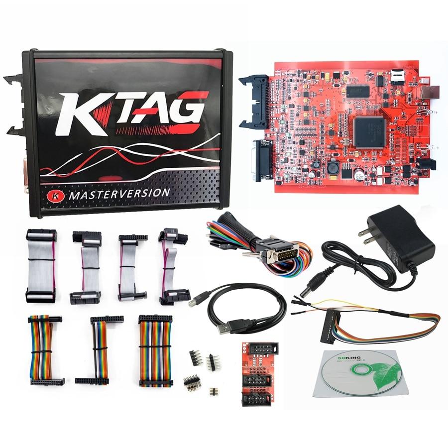 DHL Free KESS V2 V5.017 V2.47 EU KTAG V7.020 Red V2.25 ECM Titanium 4 LED FGTECH V54 BDM FRAME BDM100 V1255 BDM Probe 22pcs - 2
