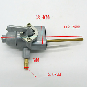 Image 2 - Motosiklet anahtarı tankı gaz yakıt vana yağ tankı anahtarı çekvalf anahtarı Honda için XL100/125/175/250/350 CB100/125 Moto aksesuarları
