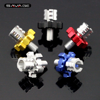 5 colors For HONDA CBR125R CBR150R CBR250R CBR300R Motorcycle CNC Billet Clutch Cable Wire Adjuster Screw M8*1.25 Honda CBR250R