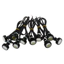 10 PCS 9W White Eagle Eye 22mm LED Motor Car Daytime Running DRL Tail/Head Backup Bulbs