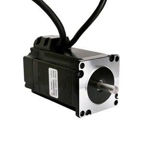 Image 2 - Бесплатная доставка ЕС, шаговый двигатель с замкнутым контуром NEMA34, 170 мм, 12 нм, 1700 унций, на 6A, 1000 линейный кодировщик, кабель 3 м и сервопривод HBS86H