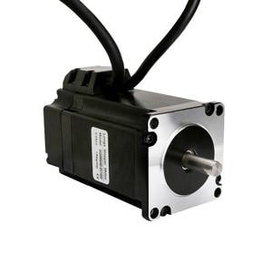 Image 2 - EU Freies shiping NEMA34 Geschlossen Loop schrittmotor 170mm 12N. m 1700 unzen. in 6A 1000 linie Encoder 3 mt kabel & HBS86H Servo Fahrer