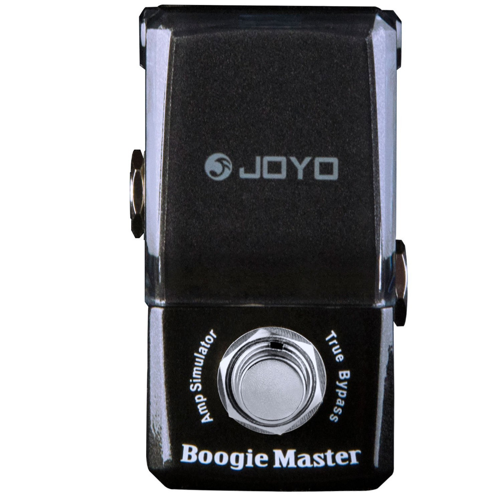 JOYO JF-309 Boogie Master Amp Simulator Mini Electric Guitar Effect Pedal with Knob Guard True Bypass joyo jf 317 space verb digital reverb mini electric guitar effect pedal with knob guard true bypass