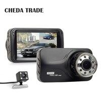 3Inch 9 Pcs IR Light Night Vision Car DVR Dashcam FHD 1080P Dash Cam G Sensor