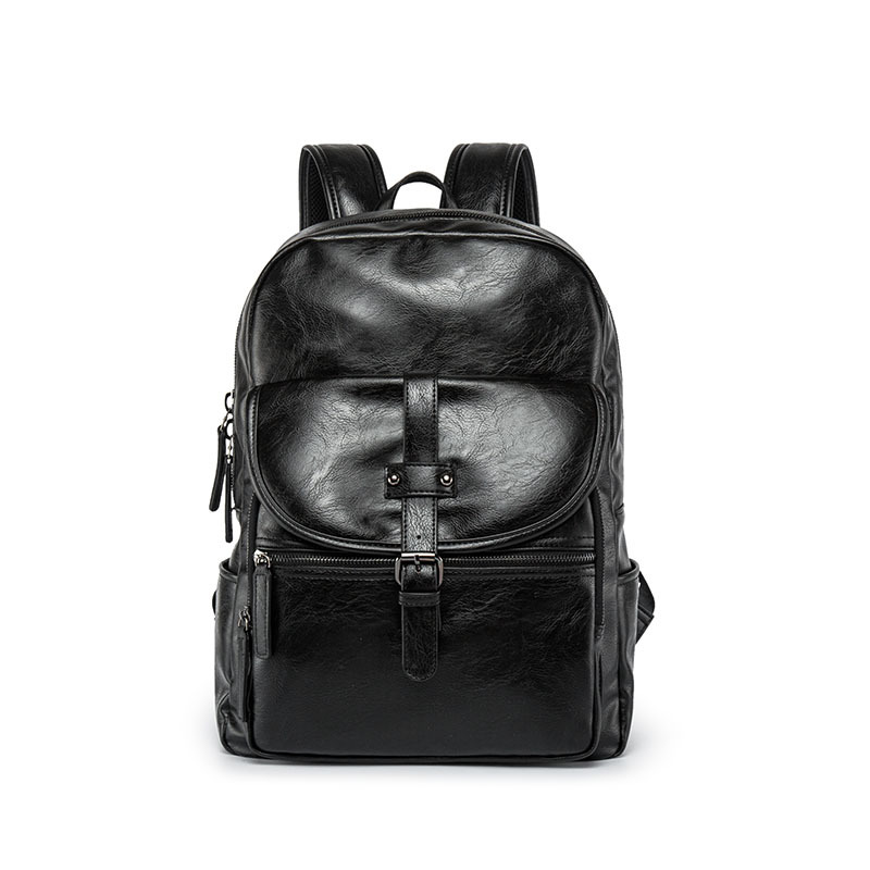 New Fashion Business Backpack Mens Tide Bag Korean College Wind Bag Casual Solid Color All Match Personalized BackpackNew Fashion Business Backpack Mens Tide Bag Korean College Wind Bag Casual Solid Color All Match Personalized Backpack