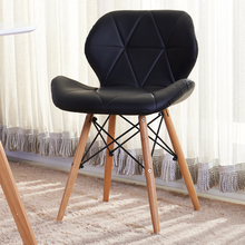 Furniture,Fashion modern leisure contracted leather chair,High-end dining chair