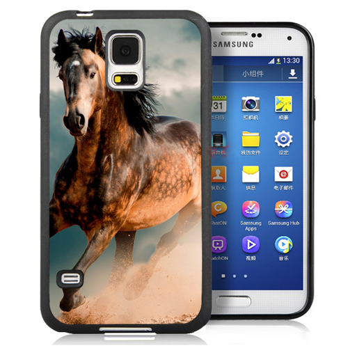 Hot RenChuang  racing horse animal Soft Rubber Cell Phone Cases Bag For Samsung S3 S4 S5 S6 S7 edge plus Note 2 Note 3 Note 4 Note 5 Back Cover