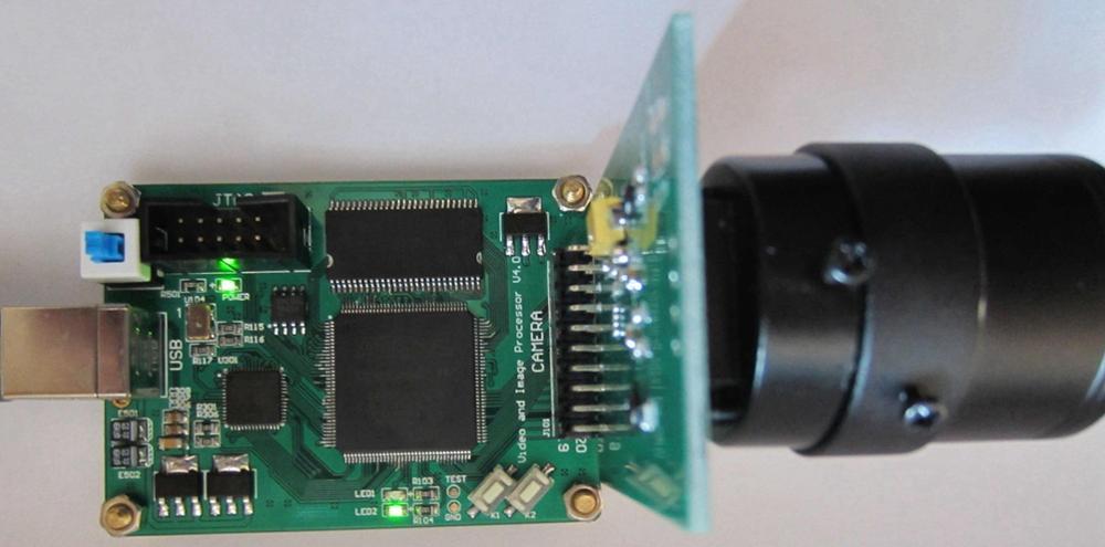 For FPGA development board 5 million pixel USB video acquisition card MT9P001 camera EP4CE6 development board