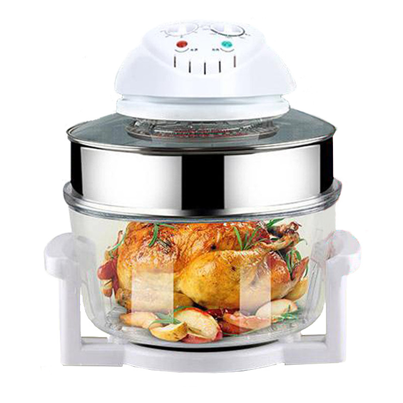 17 Liters Of Household Multifunctional Air Fryer Oven Large Capacity Air Furnace Without Oil Light Waves D30917 Liters Of Household Multifunctional Air Fryer Oven Large Capacity Air Furnace Without Oil Light Waves D309