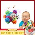 Bebé sonajero pelota agarrando bebé divertido bola lindo suave de la felpa de tela sonajero juguetes de los niños juguete de regalo
