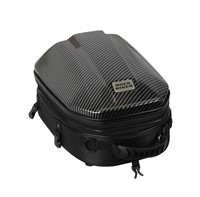 Motorcycle rear seat tail bag multi function rear seat large size helmet Bag Shoulder bag