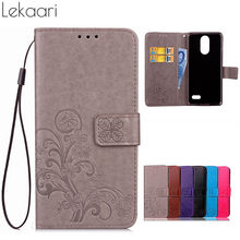Phone Case Leagoo M5 Cover Leeagoo M5 Case PU Leather Soft Silicone Wallet Flip Case for Leagoo M5 M 5 Coque Fundas(China)