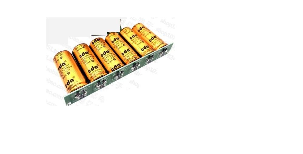 1pcs Automotive regulator 16V16 6F 16V20F super capacitor module fuel saving power 120F 100F