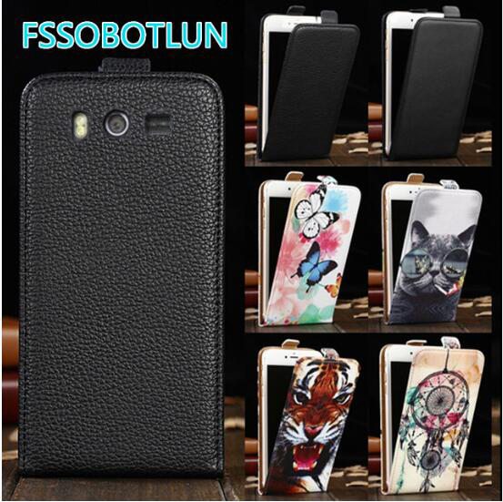 FSSOBOTLUN For <font><b>DNS</b></font> <font><b>S4502</b></font> <font><b>DNS</b></font>-<font><b>S4502</b></font> S4502M Case TOP Quality Cartoon Painting vertical phone bag flip up and down PU Leather Cover image