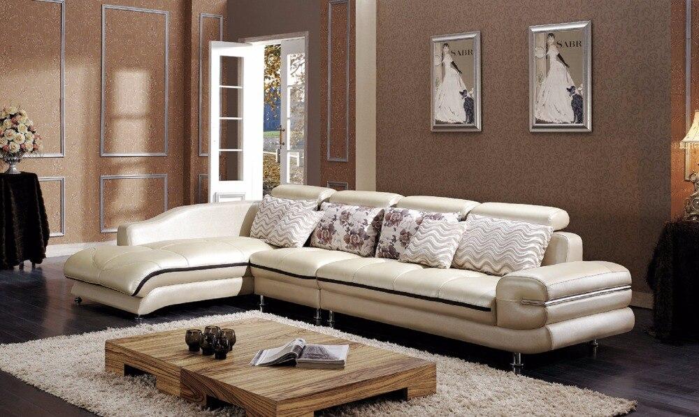 2016 European Style Bag Sofa Set Beanbag Hot Sale Real Modern Italian Leather Corner Sofas