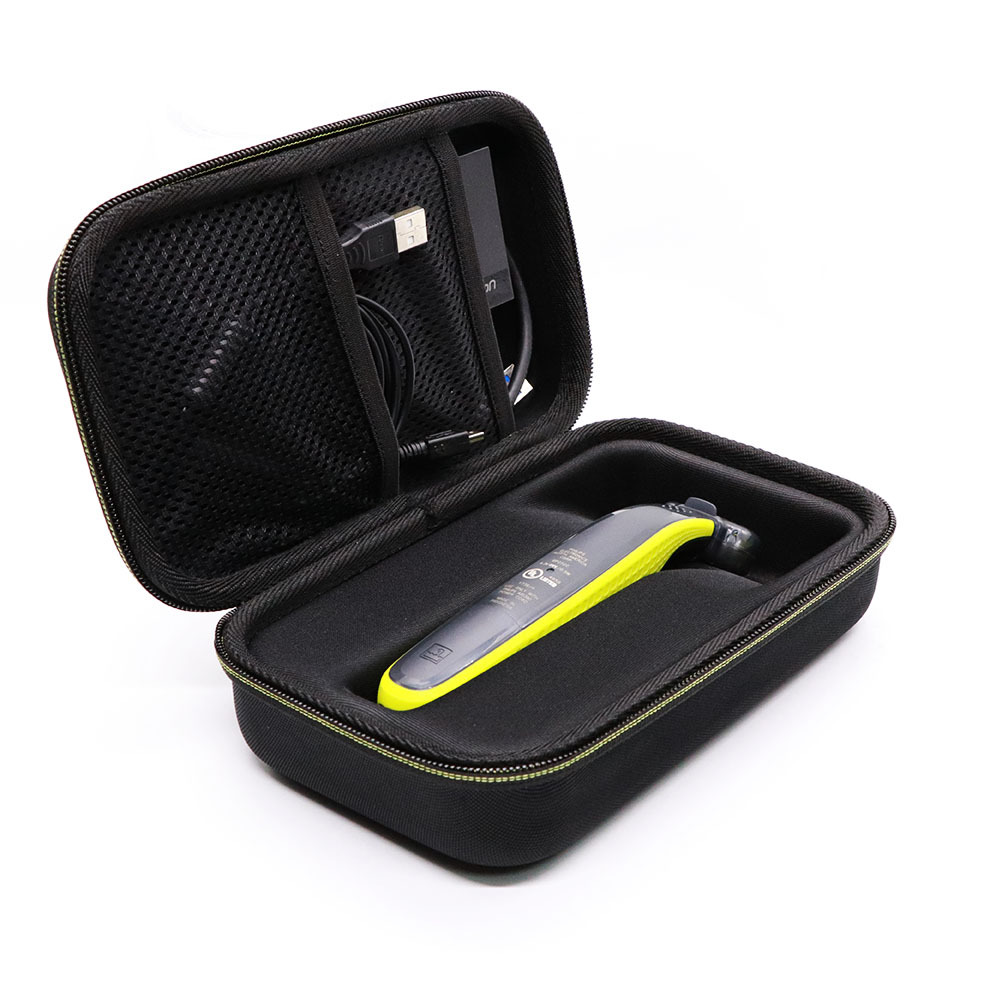 Hard Case Bag Carrying Cover For Philips Norelco OneBlade Hybrid Electric Trimmer Shaver QP6520 QP6510 Extra Space