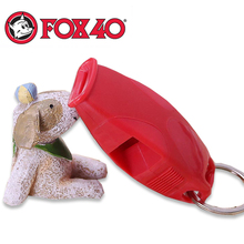 NEW arrived plastic Fox40 Referee coach Whistle for basketballer football soccer Rugby Party Training School sports games tools