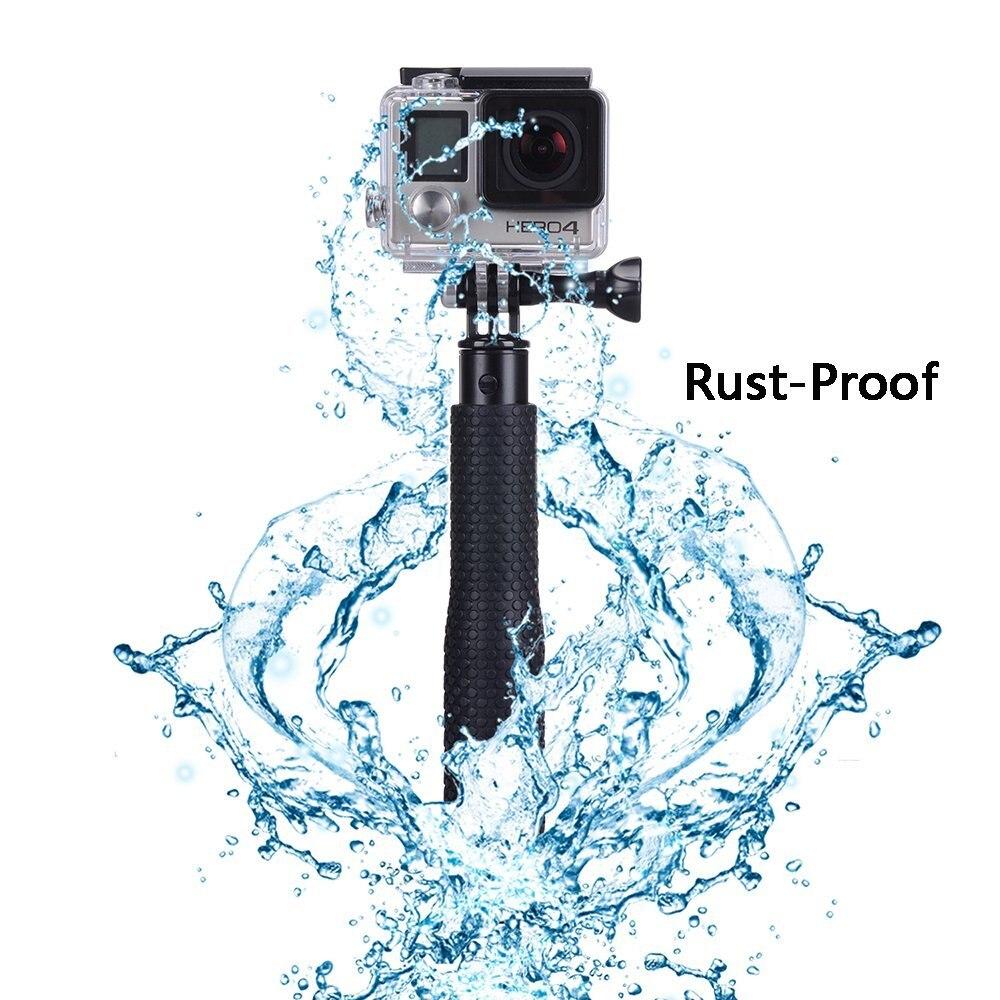 Wasserdichte Hand Grip Einstellbare Selfie Stick Handheld Monopod Für GeekPro Für GoPro HD Hero 6 5 4 3 + 3 2 1 für Xiaomi Yi