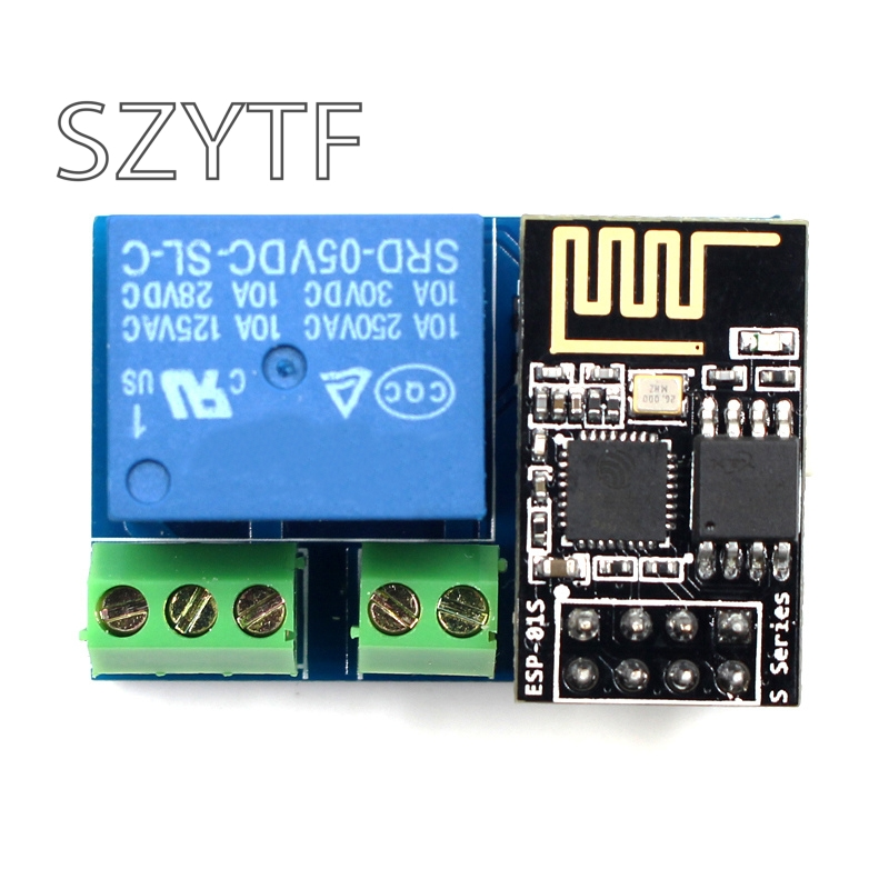 ESP8266 5V WiFi relay module esp-01s Things smart home remote control switch phone APP