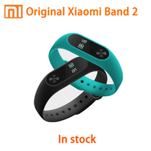 In stock Original Xiaomi Mi Band 2 Mi band Tracker Heart Rate Monitor OLED Display Touchpad Bluetooth 4.0  IP67 Waterproof