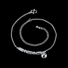 2016 Top Selling Fashion Silver Color Beach Anklet multilayer Bell Ankle Bracelet Foot Jewelry for Women Anklets Bracelet Gifts