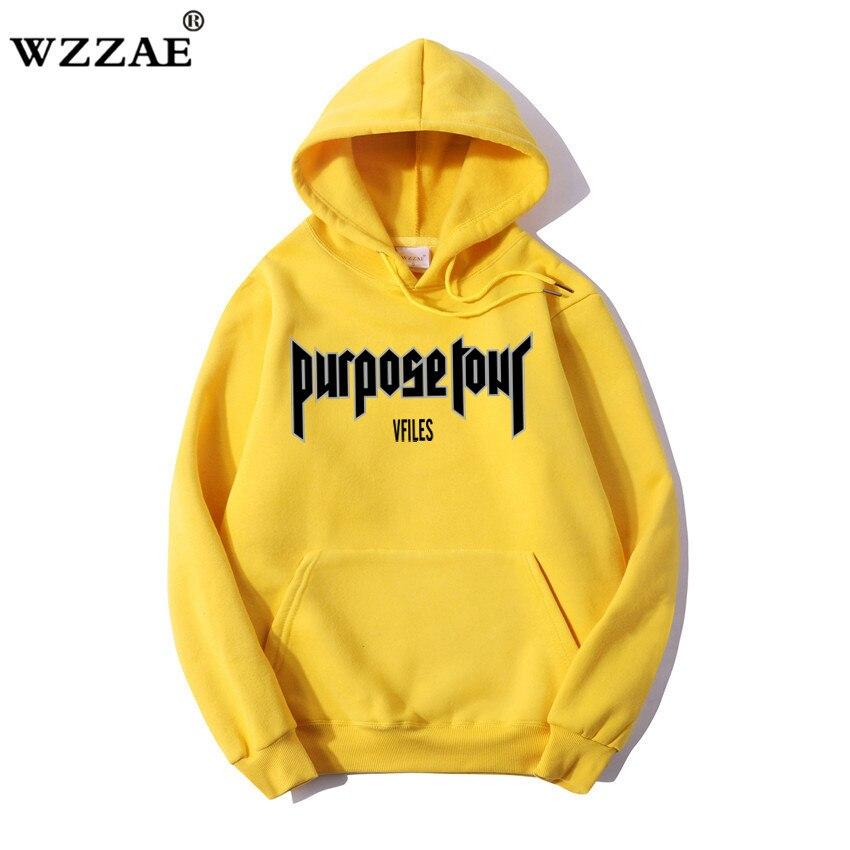 WZZAE Purpose Tour толстовки Для мужчин Для женщин 1:1 высокое качество Джастин Бибер одежда Кофты Purpose Tour Толстовка Purpose Tour Hoodi