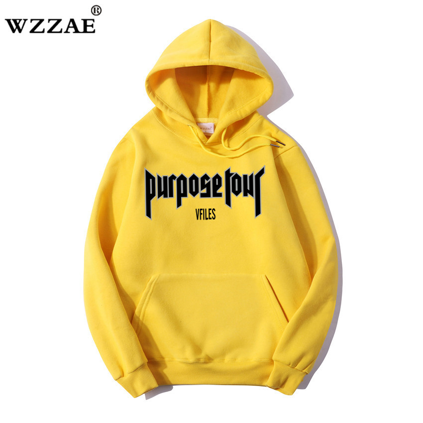 WZZAE Purpose Tour Hoodies Men Women 1:1 High Quality Justin Bieber Clothes Sweatshirts Purpose Tour Hoodie Purpose Tour Hoodi