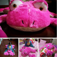 Fancytrader Giant Cuddly Stuffed Animal Frog Plush Toy Baby Soft Game Pad Doll 50cm 20inch