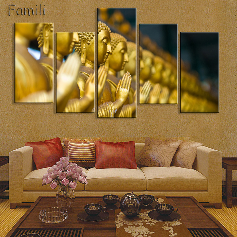 Awesome Buddha Wall Art Canvas Gift - The Wall Art Decorations ...