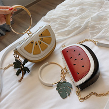 PU Women Purses And Handbags 2019 Bags for Women Watermelon Lemon Shape Fashion Bags Female Women Bags Shoulder Bags