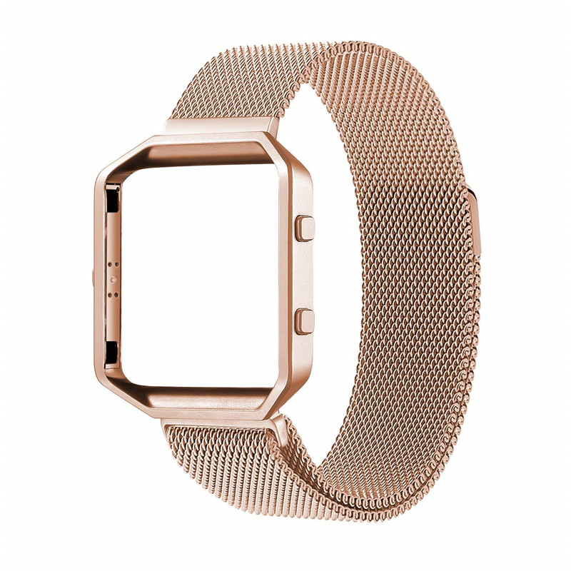 Stainless Steel Strap For Fitbit Blaze Bands Magnetic Milanese Loop Womens Mens Replacement Band For Fit Bit Blaze Wristbands
