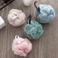 vanzlife Double ball rub zao towel bath articles for use that wash bath foam artifact double mesh bath flowers shower bath ball