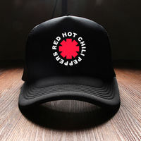 New 2017 Spring Fashion Hip Hop Punk Red Hot Chili Peppers Rock Band Mens Sun Hats