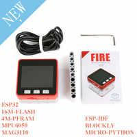M5Stack PSRAM 2.0 FIRE IoT Kit Dual Core ESP32 16M-FLash+4M-PSRAM Development Board MIC/BLE MPU6050+MAG3110 of Micropython ZK5