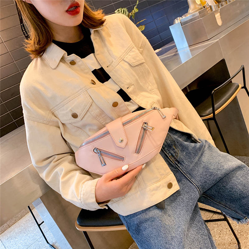 Chest Pocket Shoulder Bag Crossbody Bag for Women 2019 Messenger Bags womens bag bolsa feminina sac a main 40AP17Chest Pocket Shoulder Bag Crossbody Bag for Women 2019 Messenger Bags womens bag bolsa feminina sac a main 40AP17