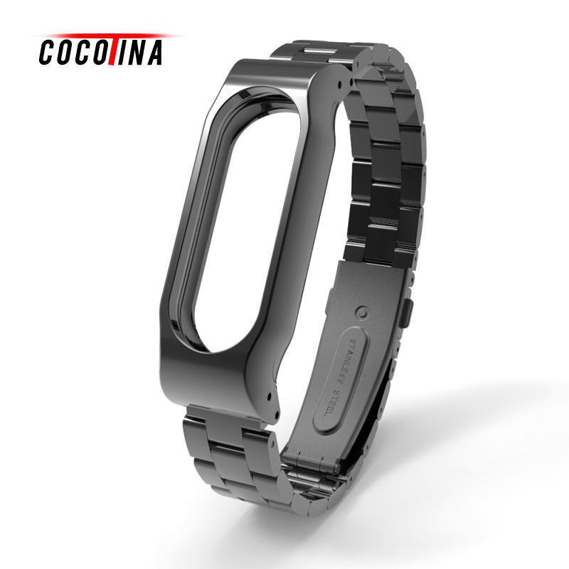 COCOTINA Smart Bracelet Wristbands Replacement Wrist Band For Mi Band 2 Steel Strap For Xiaomi 2 LBD1522 new fashion original silicon wrist strap wristband bracelet replacement for xiaomi mi band 2 dignity 8 9