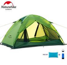 Naturehike палатка открытый легкий надувной играть 2 человек 20d силиконовые двухслойные палатки