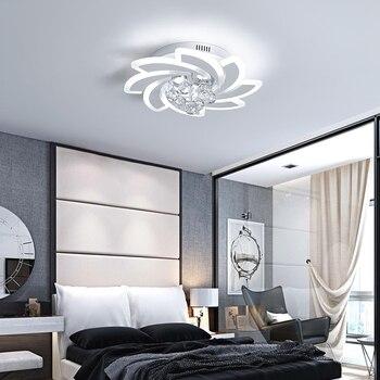 Moderno LED lámparas para sala de estar dormitorio comedor ...