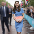 Princesa Kate Middleton Vestido de Mujer Vestido de Verano Elegante de Manga Corta de Las Mujeres Ropa de Trabajo Ropa de Marca Vestido Vestidos Lápiz Casual